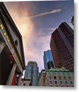 Quincy Market Sky Metal Print