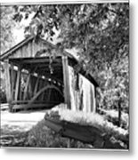 Quinlan Bridge Metal Print by Deborah Benoit