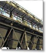 Quintuple Industrial Repeat Metal Print