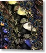 Quite Contrary Metal Print