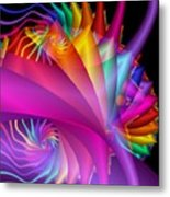 Quite In Different Colors -1- Metal Print