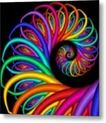Quite In Different Colors -8- Metal Print