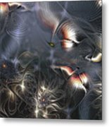 Quixotic Cerebrations Metal Print