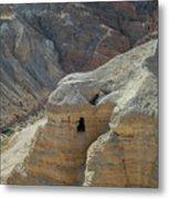 Qumran Cave Metal Print