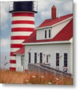 Quoddy Lighthouse Afternoon Metal Print