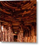 Qutub Minar Metal Print