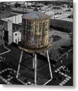 Water Tower Metal Print
