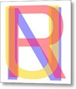 R U N Metal Print