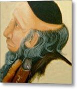 Rabbi Metal Print