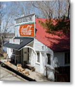 Rabbit Hash Store-front View Angle Metal Print