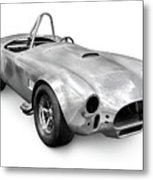Race Car With Stripped Off Paint Metal Print by Oleksiy Maksymenko