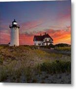 Race Point Light Sunset 2015 Metal Print