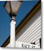 Race St Old Salem Metal Print