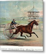 Racehorse: Goldsmith Maid Metal Print by Granger