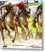 Racetrack Dreams 11 Metal Print