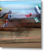 Racetrack Dreams 2 Metal Print