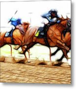 Racetrack Dreams 7 Metal Print