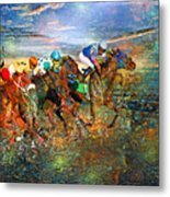 Racing Energy II Metal Print