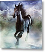 Racing The Storm Metal Print
