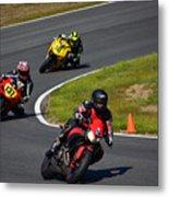 Racing Through Turn 11 Metal Print