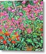 Radford Flower Garden Metal Print