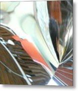 Radial Reflection 2 Metal Print