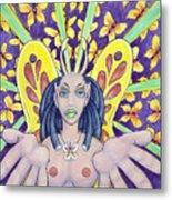 Radiant Butterflies Metal Print