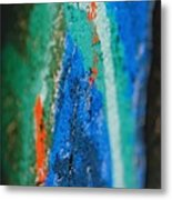Radiating Colors Metal Print