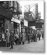 Radio Alley In New York Metal Print