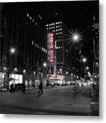 Radio City Colors Metal Print