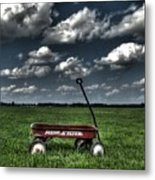 Radio Flyer Metal Print