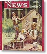 Radio News, 1926 Metal Print