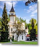 Radziejowice Castle Metal Print
