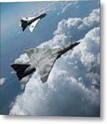 Raf Tsr.2 Advanced Bomber With Lightning Interceptor Metal Print