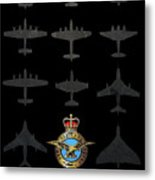 Raf100 - The Bombers Metal Print