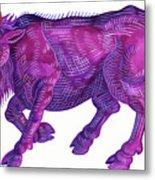 Raging Bull Taurus Metal Print
