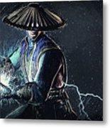 Raiden - Mortal Kombat Metal Print