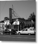 Raifords Disco Memphis A Bw Metal Print