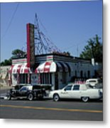 Raifords Disco Memphis A Metal Print