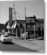 Raifords Disco Memphis B Bw Metal Print