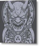 Raijin Metal Print