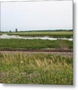 Rail Refuge Metal Print