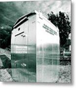 Railroad Box 86 Metal Print