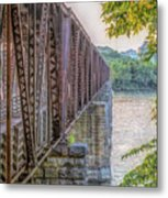Railroad Bridge14 Metal Print