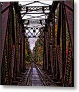 Railroad Trestle Metal Print