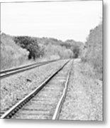 Rails 004 Metal Print