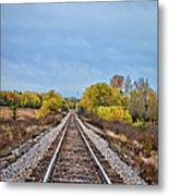 Rails To Parkersburg 2 Metal Print