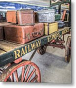 Railway Express Agency Metal Print