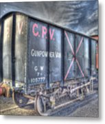 Railway Gunpowder Wagon Metal Print by Chris Thaxter