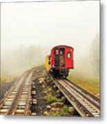 Railway To The Summit Metal Print